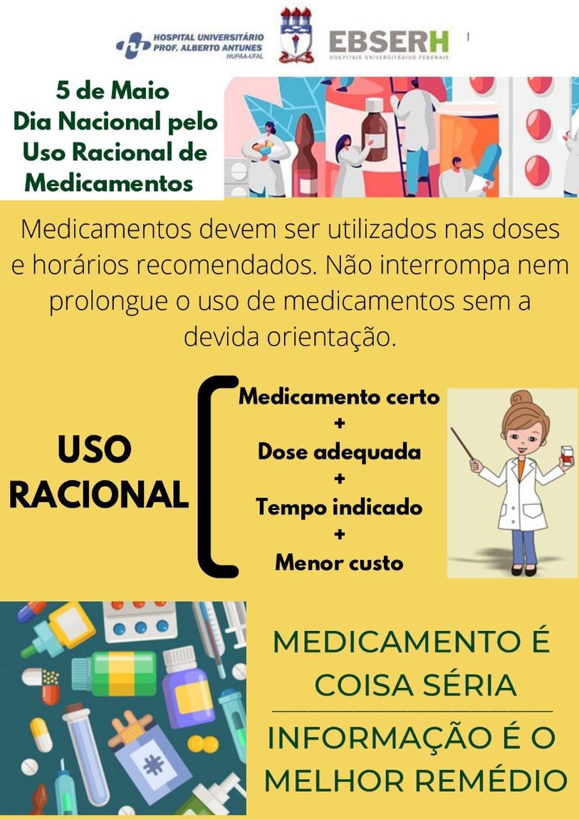 05 de Maio - Dia Nacional pelo Uso Racional de Medicamentos