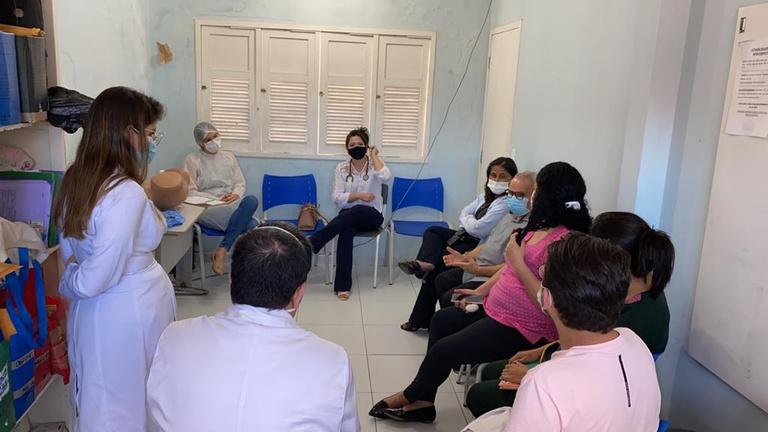MEJC capacita profissionais das Unidades Básicas de Saúde de Natal