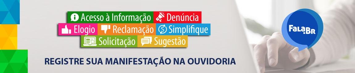 FALA.br - Registre sua manifestação na Ouvidoria
