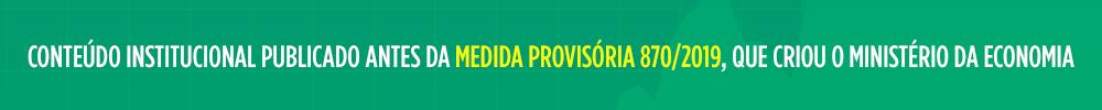 Banner medida provisória