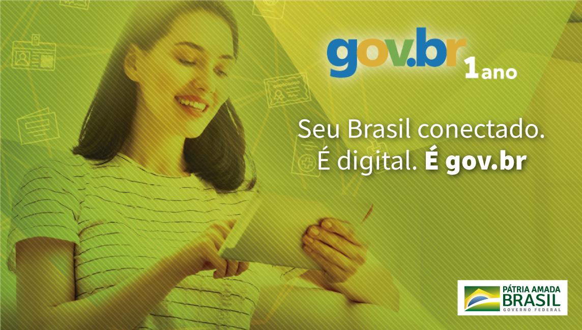 Mais de 72 milhões de brasileiros já têm conta no Gov.Br e podem acessar serviços de diferentes órgãos com uma única senha