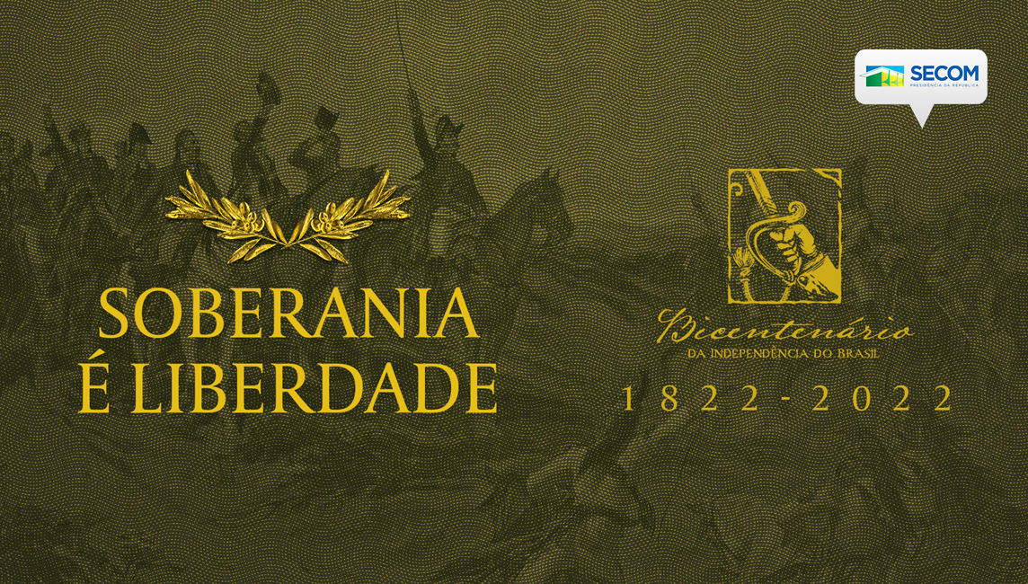 No dia 7 de setembro de 1822, às margens do Rio Ipiranga, Dom Pedro proclamou a Independência do Brasil