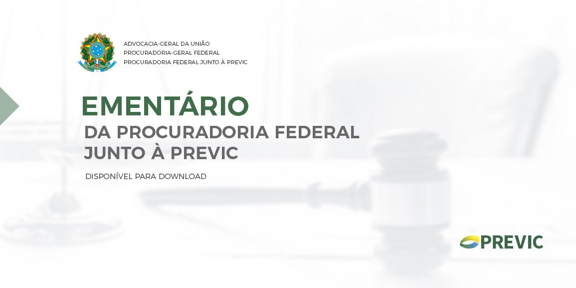 Ementário da Procuradoria Federal Junta à Previc
