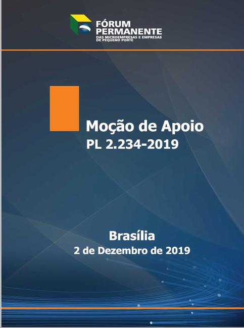 Moção de Apoio PL 2.234-2019