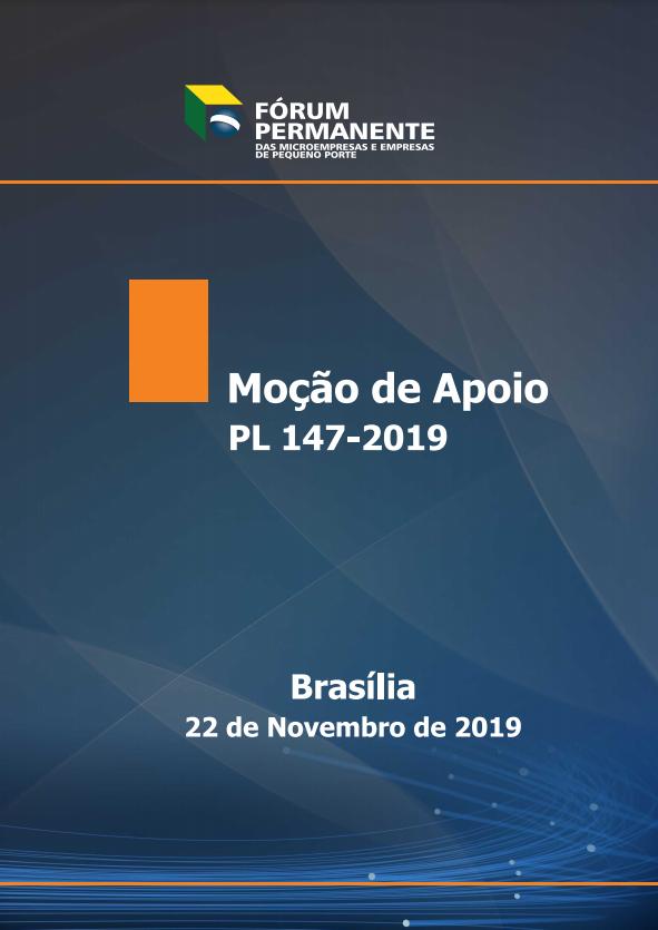 Moção de Apoio PL 147-2019