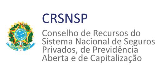 Logomarca do Conselho de Recursos do Sistema Nacional de Seguros Privados, de Previdência Privada Aberta e de Capitalização - CRSNSP