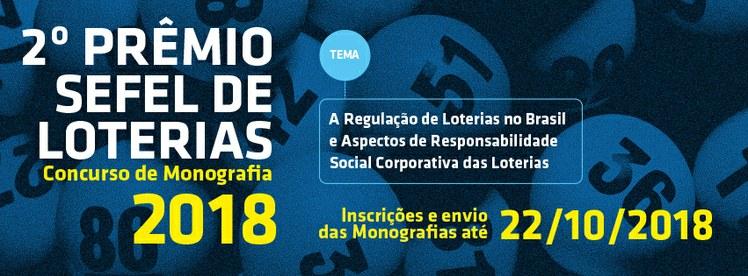 Banner Prêmio Sefel 2018