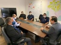 Presidente Marcelo Xavier em reunião com coordenadores regionais. Foto: Débora Schuch/Funai