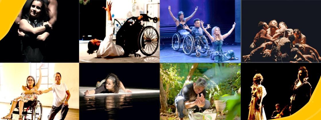 Oito companhias de dança encerram a temporada de montagens com recursos acessíveis de audiodescrição e Libras, no canal da Fundação no YouTube