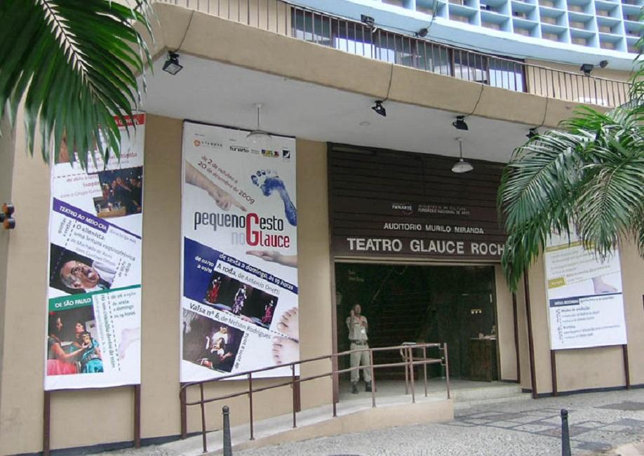 Teatro Glauce Rocha – Rio de Janeiro (RJ) – fachada. Foto: Luciana Avellar