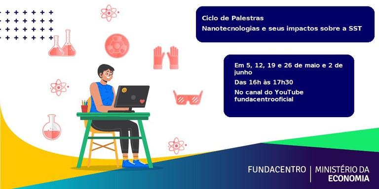 Card - Ciclo de Palestras Nanotecnologia