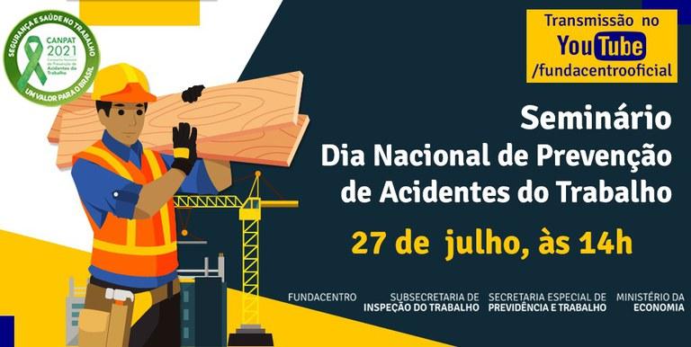Imagem do Dia Nacional de Prevenção de Acidentes de Trabalho