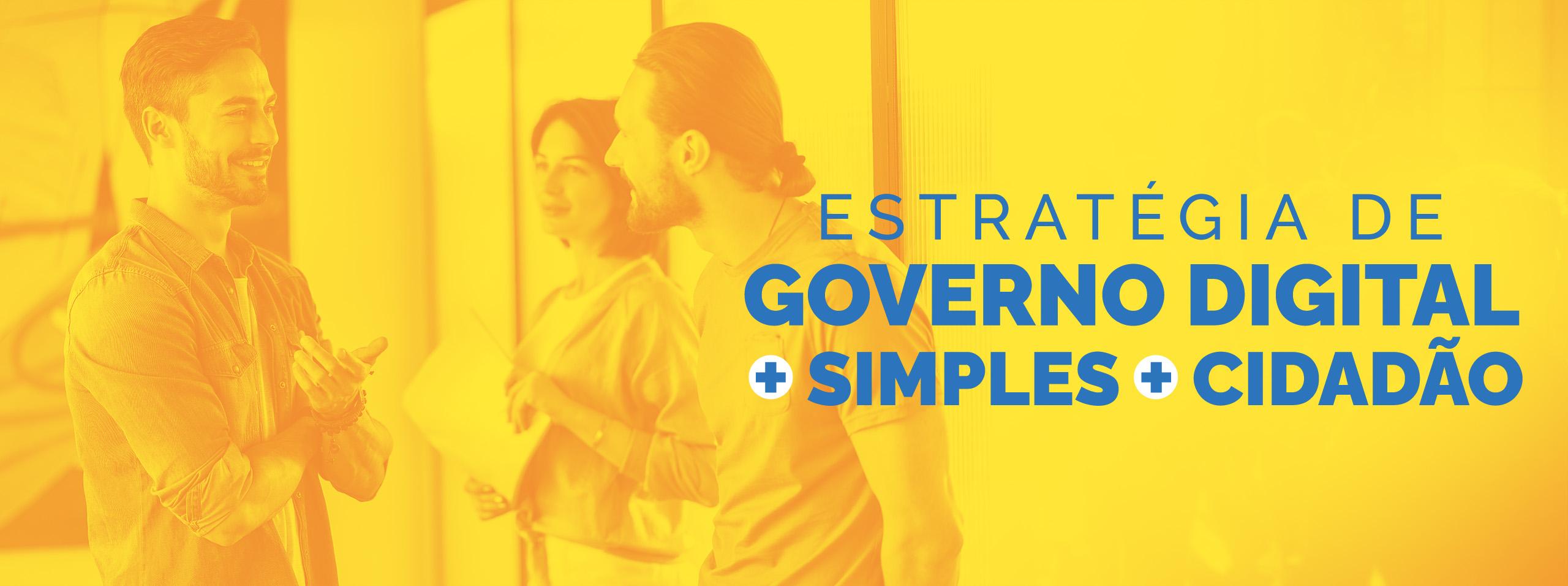 Banner Estratégia de Governo Digital 2020-2022