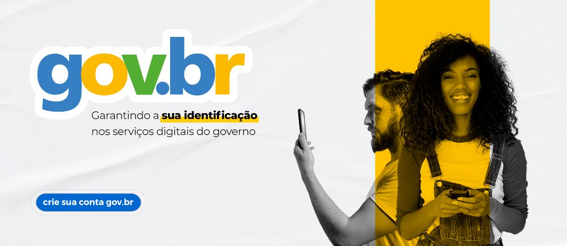 Banner aplicativo gov.br