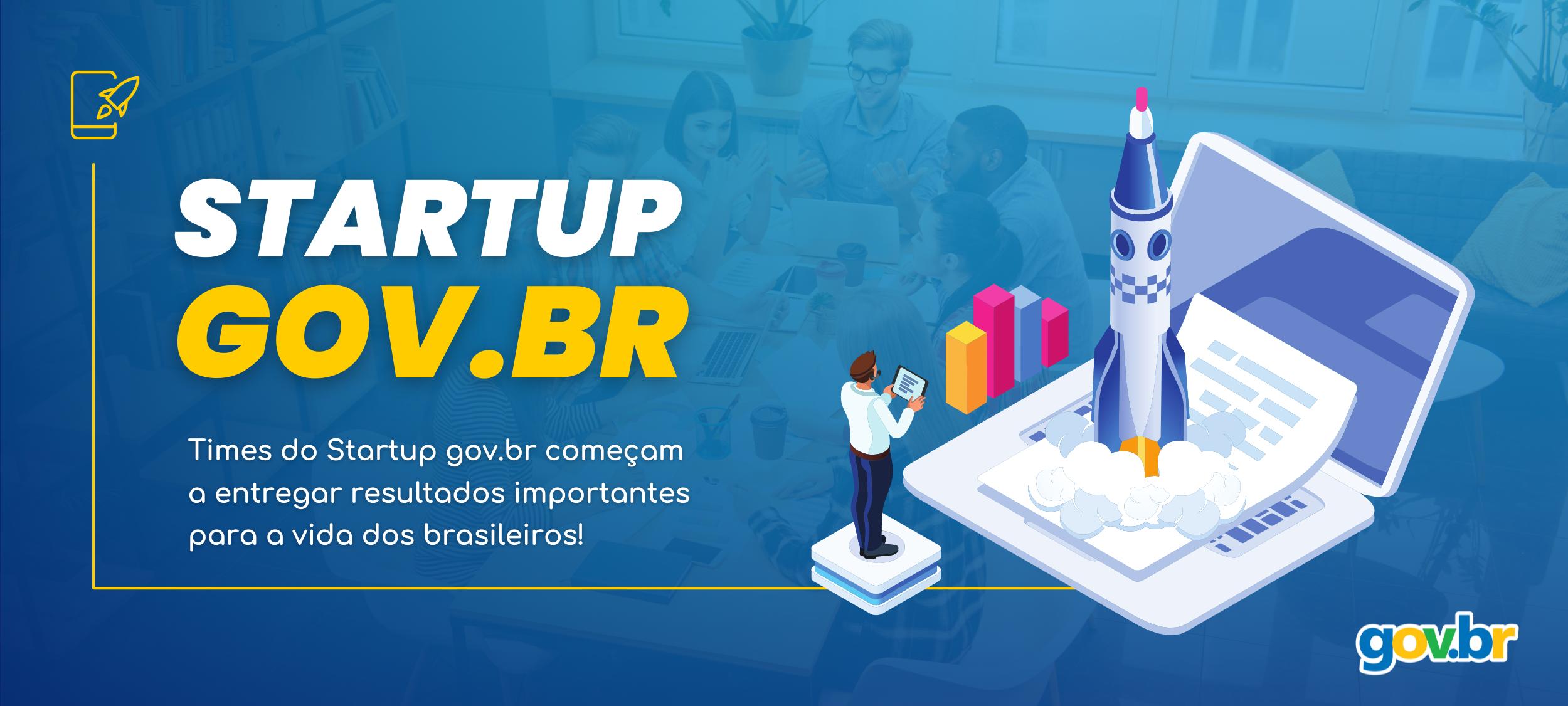 Banner Startup gov.br