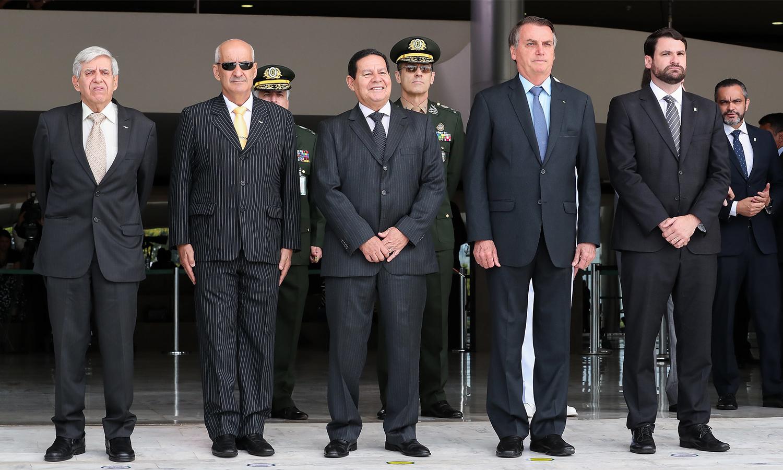 Troca da Guarda do Palácio do Planalto