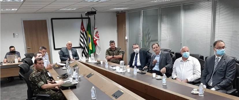 Visita Institucional à Secretaria de Segurança Pública de São Paulo
