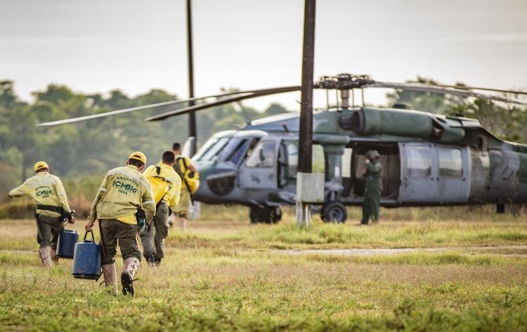 Aberto edital de contratação para combate ao fogo em todo o Brasil