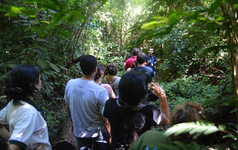 A Unidade de Conservação é um importante remanescente preservado em meio urbano, utilizado para educação pesquisa e conscientização ambiental