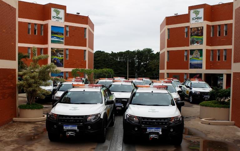 ICMBio entrega 34 novas viaturas para proteção de parques nacionais
