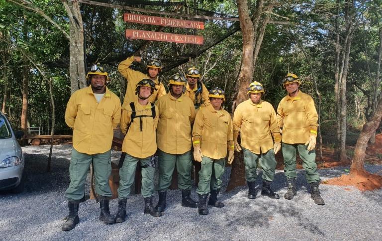 Unidades de conservação do DF capacitam brigadistas para período de seca