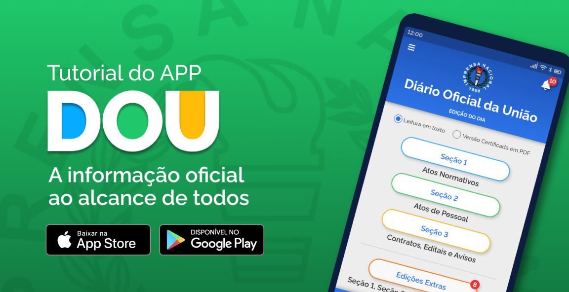 Tutorial do App DOU