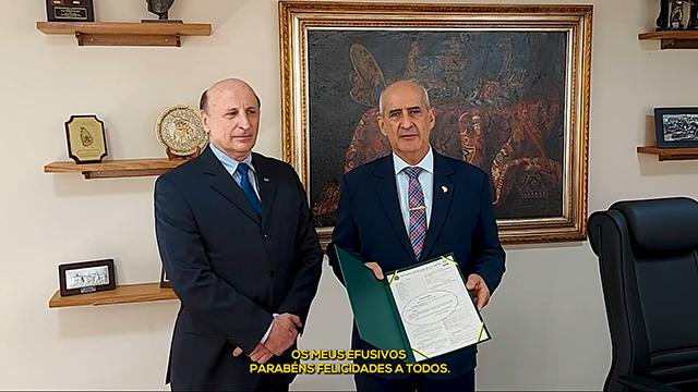 Ministro da Secretaria-Geral parabeniza a Imprensa Nacional pelos 159 anos do Diário Oficial da União
