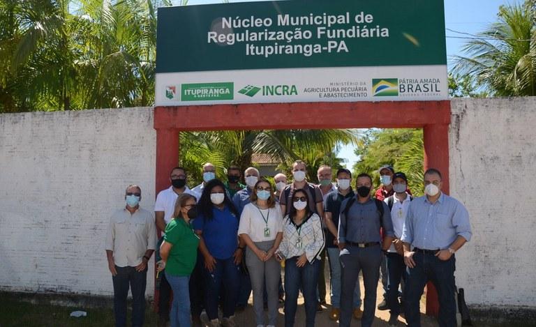Incra Sul do Pará e Prefeitura de Itupiranga inauguram  Núcleo Municipal de Regularização Fundiária do município