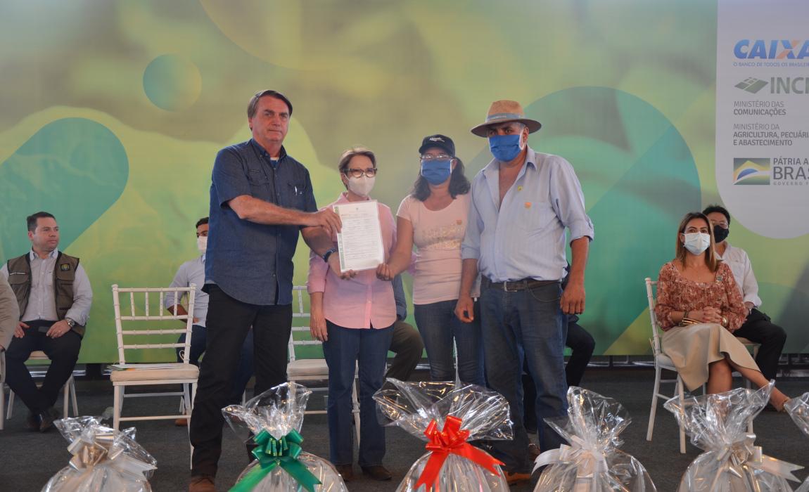 Quase 4 mil títulos são entregues em Mato Grosso do Sul