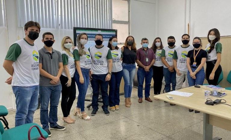 Capacitação NMRF Teresina Piauí