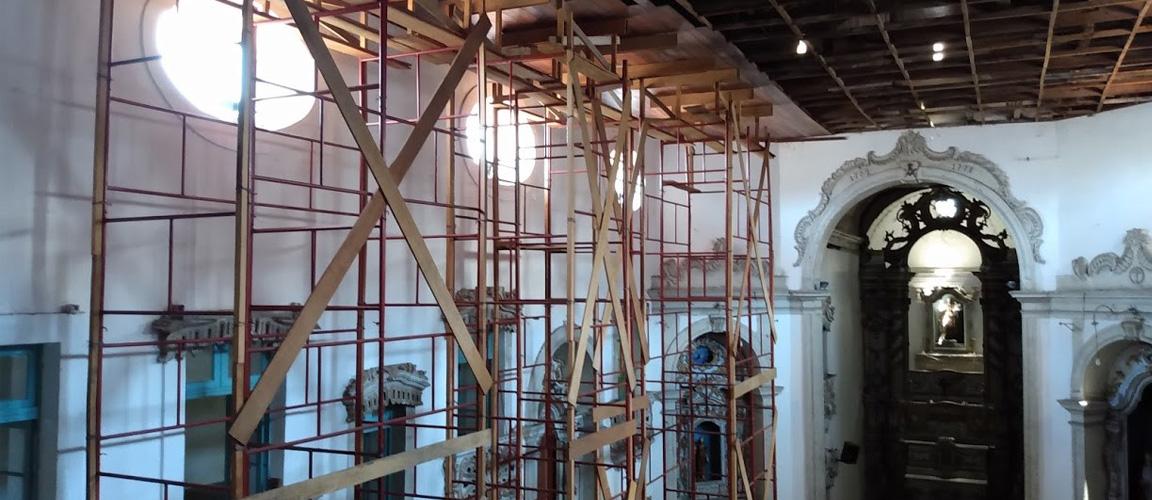 Além de gerar trabalho e renda, intervenções devolvem monumento para a população após anos fechado