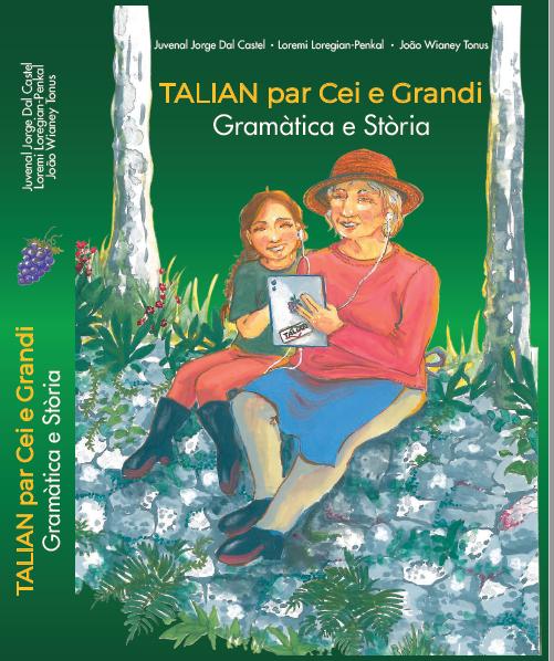 Capa da Gramática Talian