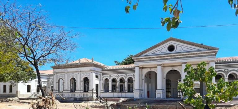 A Estação João Felipe é um bem tombado pelo Iphan em função de seus valores histórico, artístico e cultural. (Fotos: Iphan/CE)