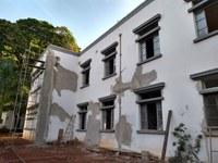 Antiga Chefatura de Polícia no estado de Goiás, o imóvel abrigou a primeira sede da Polícia Civil. Foto: Ana Renata Silva Santos