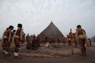Imagens cedidas pela equipe do projeto Os ciclos do Yaokwa entre os Enawene Nawe qualificação e documentação de registros do Salomã, IphanSociedade de Amigos do Museu do Índio-SAMI (2016-2018). Acervo Iphan, 2017