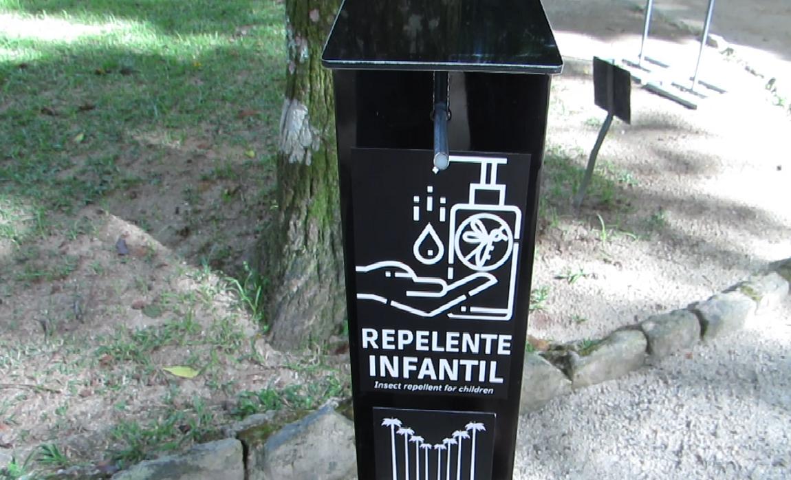 Jardim Botânico do Rio passa a oferecer aos visitantes repelente natural