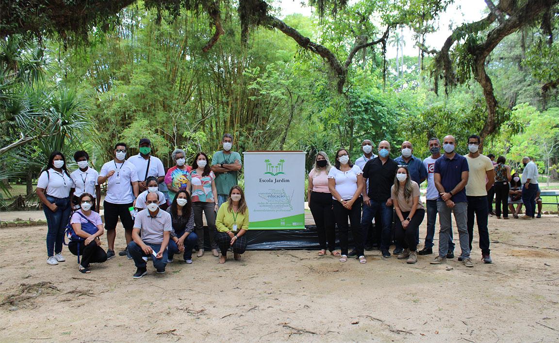 Jardim Botânico lança programa de capacitação