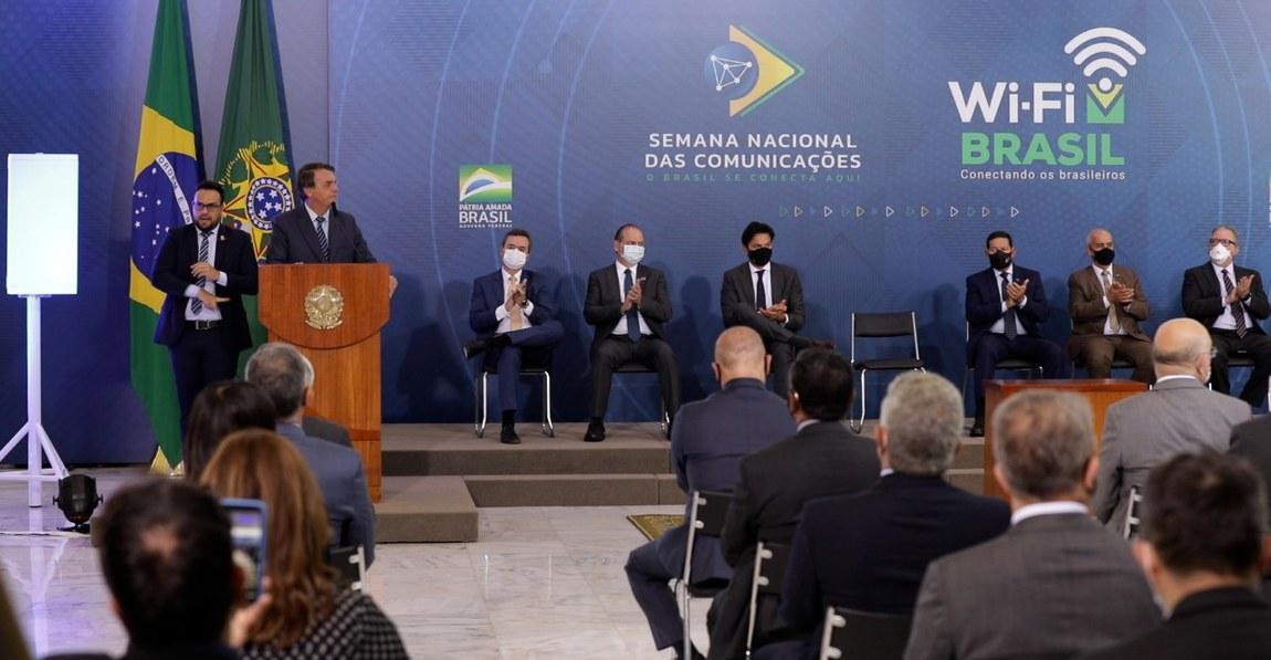 Parceria do Governo Federal com Banco do Brasil e Sebrae levará internet para mil municípios