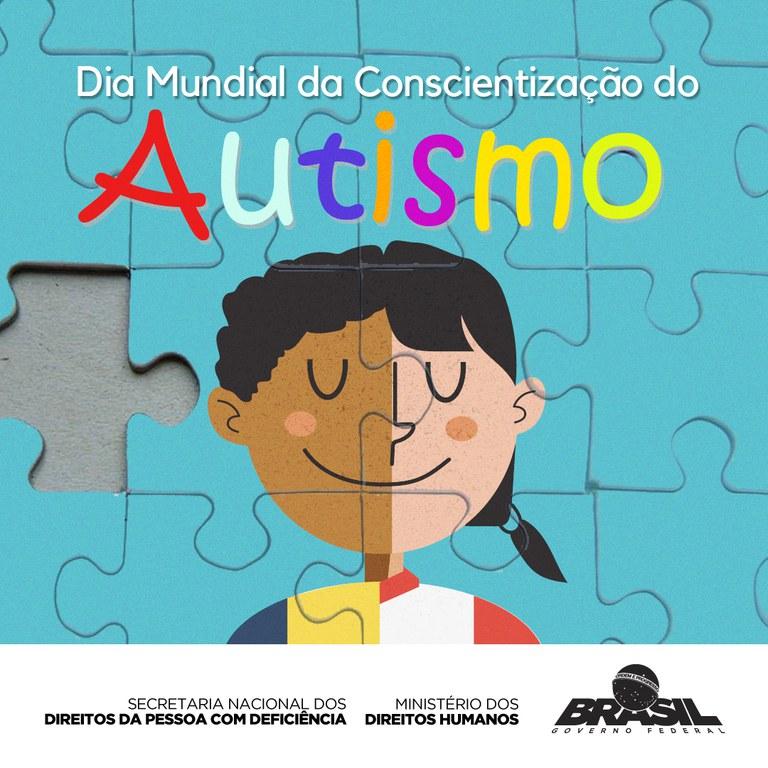 2 de abril - Dia Mundial da Conscientização do Autismo