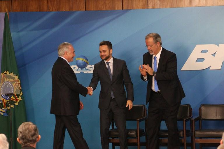 Ministro Gustavo Rocha participa de cerimônia de criação do Susp