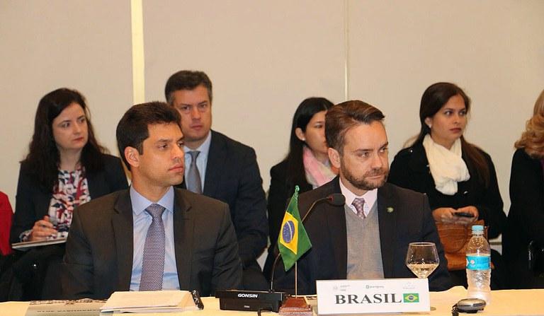 Ministro Gustavo Rocha representou o Brasil na Reunião de Altas Autoridades em Direitos Humanos do MERCOSUL (RAADH) no Paraguai