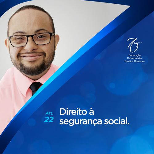 Artigo 22º: Direito à segurança social