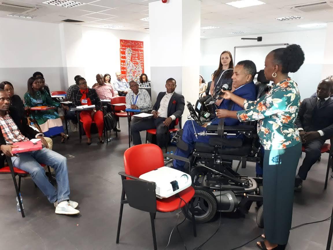 Brasil coopera para a inclusão de pessoas com deficiência em Angola