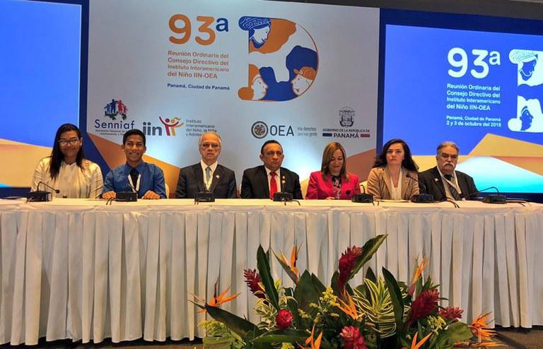 MDH participa de reunião do Instituto Interamericano de Crianças e Adolescentes