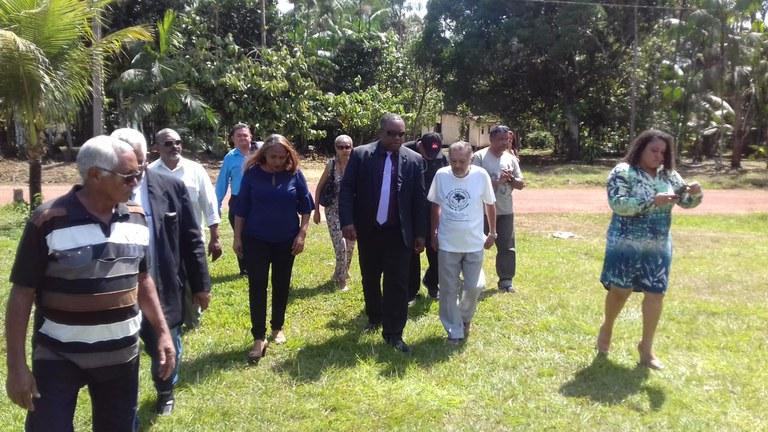 Visita a comunidades quilombolas do Pará