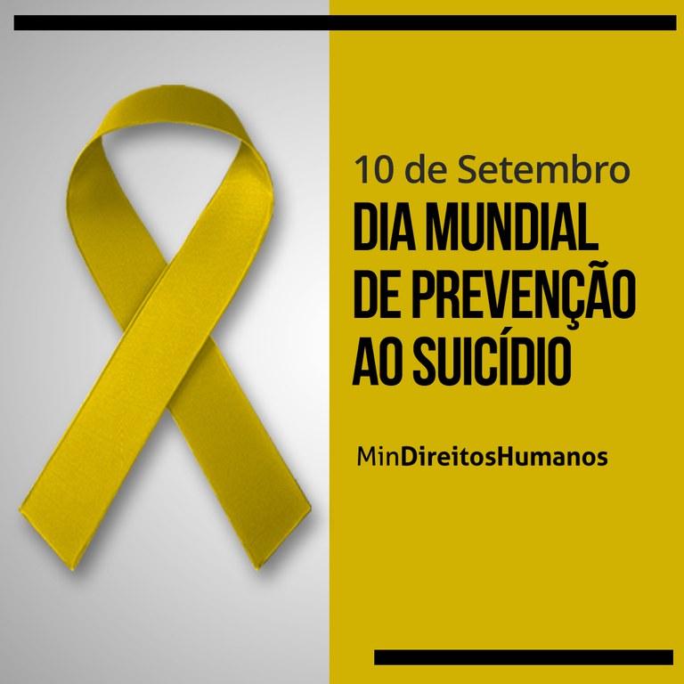 MDH alerta para Dia Mundial de Prevenção ao Suicídio e cita pessoas idosas  — Português (Brasil)