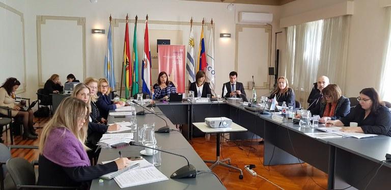 MDH participa de debate sobre as políticas públicas voltadas às mulheres com ministras do Mercosul