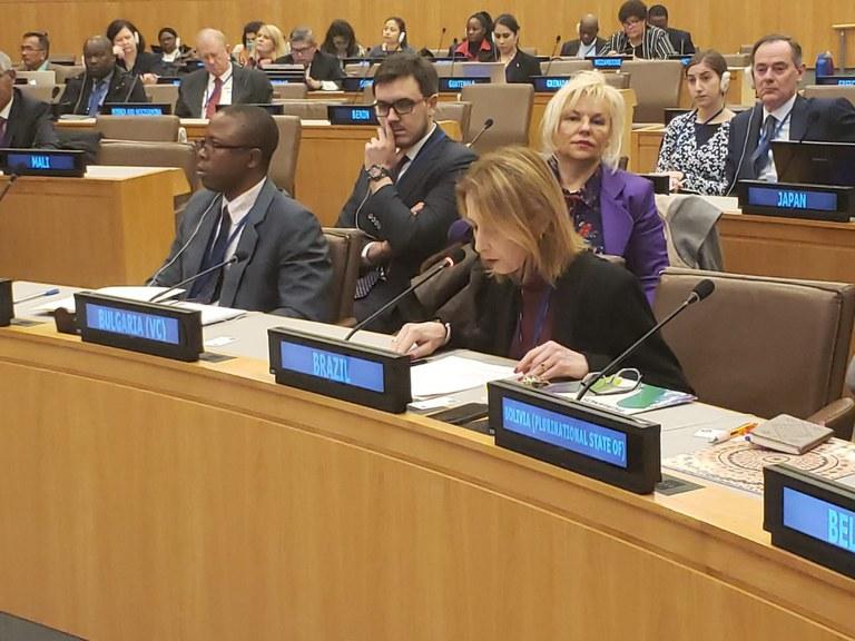 Evento da ONU em Nova Iorque