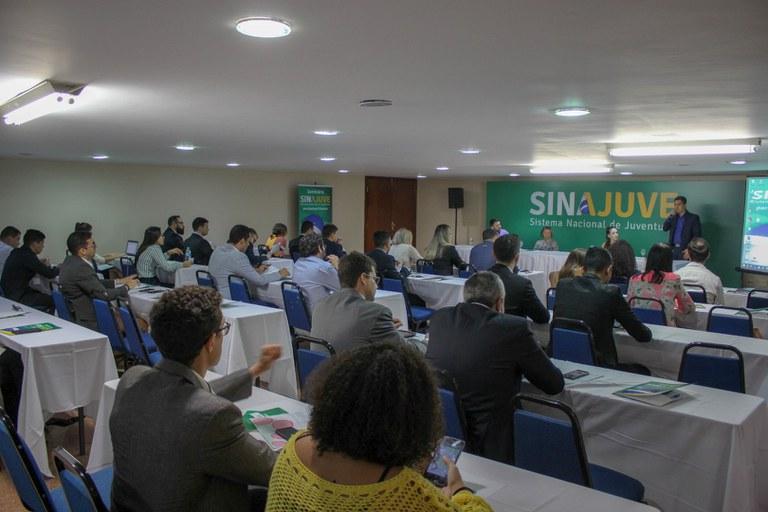 Seminário Sinajuve reúne gestores estaduais de juventude. (Foto: Diego Barreto - SNJ/MMFDH)