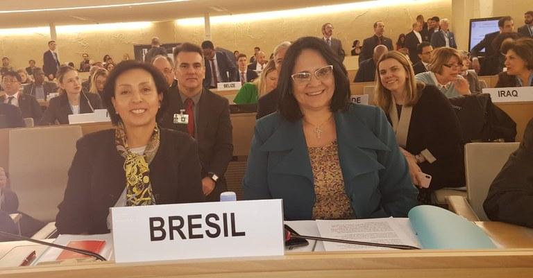 Ministra Damares chefia delegação em Conselho de Direitos Humanos da ONU